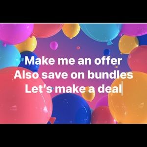 Other - Make an offer or bundle and save